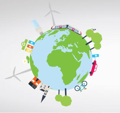 Le monde en Verte Energie
