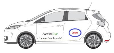 VE propre zero emission mecenat branche logo ActiVE