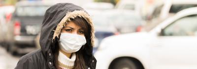 Pollution, smog, gaz d'échappement